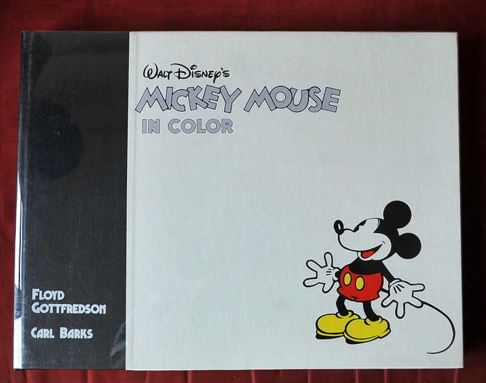 Mickey Mouse in Color - hc met stofomslag - 1e druk - (1988)