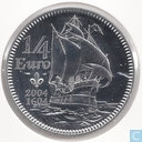 "Frankrijk ¼ euro 2004 ""400th anniversary of the arrival of Samuel De Champlain in North America"""