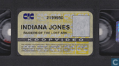DVD / Video / Blu-ray - VHS video tape - Indiana Jones and the Raiders of the Lost Ark