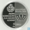 "Aruba 5 florin 2013 (PROOF) ""Inauguration King Willem-Alexander"""