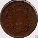 Straits Settlements 1 cent 1901