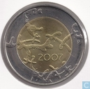 "Finland 5 euro 2007 ""90 years of independence"""