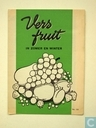 vers fruit in zomer en winter