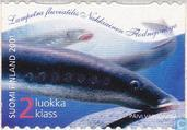 Briefmarken - Finnland - 2. Kl. multicolor