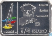 "France ¼ euro 2008 ""series French kunstschilders 125th anniversary of the death of Édouard Manet"""