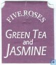 Sachets et étiquettes de thé - Five Roses - Green Tea and Jasmine