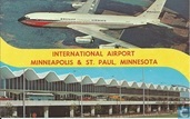 International airport Minneapolis-St.Paul / Braniff - Boeing 720
