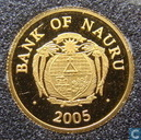 "Nauru 10 dollars 2005 (PROOF) ""National Museum in Nuremburg"""
