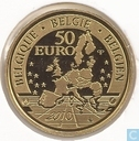 "Belgique 50 euro 2010 (BE) ""100 Years of Tervuren African Museum"""