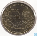 "France ¼ euro 2005 ""100th anniversary of the death of Jules Verne Edition 1"""