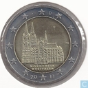 "Germany 2 euro 2011 (F) ""Nordrhein - Westfalen"""