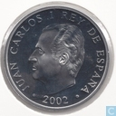 "Spain 10 euro 2002 (PROOF) ""Winter Olympics in Salt Lake City"""