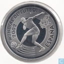 "Spain 10 euro 2002 (PROOF) ""Football World Cup in Korea and Japan - Goal shooting"""
