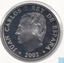 "Spanje 10 euro 2002 (PROOF) ""100th anniversary of the birth of the poet Luis Cernuda"""