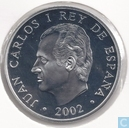 "Spain 10 euro 2002 (PROOF) ""100th anniversary of the birth of the writer Rafael Alberti"""