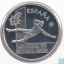 "Spanje 10 euro 2002 (PROOF) ""Football World Cup in Korea and Japan - Goalkeeper"""