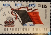 National flag + Overprint UPU