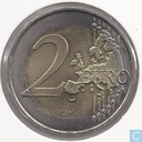 "Munten - Frankrijk - Frankrijk 2 euro 2009 ""10th Anniversary of the European Monetary Union"""