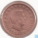 Coins - Luxembourg - Luxembourg 1 cent 2002
