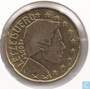 Luxembourg 20 cent 2002