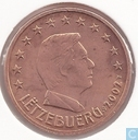 Luxembourg 5 cent 2002