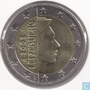 Luxembourg 2 euro 2002 (small stars)