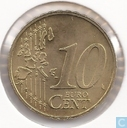 Monnaies - Luxembourg - Luxembourg 10 cent 2002