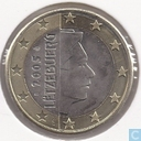 Monnaies - Luxembourg - Luxembourg 1 euro 2005