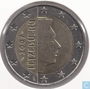 Monnaies - Luxembourg - Luxembourg 2 euro 2007