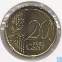 Monnaies - Luxembourg - Luxembourg 20 cent 2007