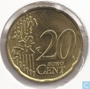 Monnaies - Luxembourg - Luxembourg 20 cent 2005