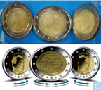 """Coins - Luxembourg - Luxembourg 2 euro 2009 """"10th Anniversary of the European Monetary Union"""""""