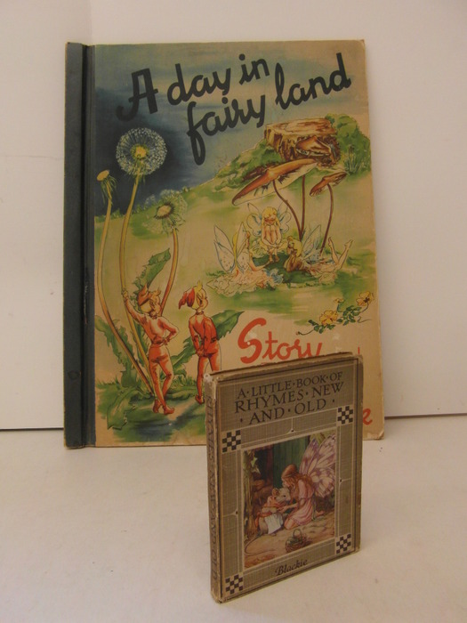 Fairy tales; Sigrid Rahmas - A Day in Fairyland, Story and Picture Book - 1949