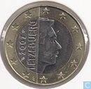 Coins - Luxembourg - Luxemburg 1 euro 2007