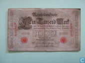 Reichsbank, 1000 Mark 1898