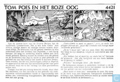 Comic Books - Bumble and Tom Puss - Tom Poes en het boze oog