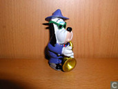 Droopy with saxophone