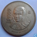 Mexique 1000 pesos 1992