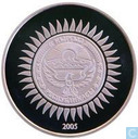 "Kirghizistan 10 som 2005 (BE) ""60th Anniversary of Great Victory"""