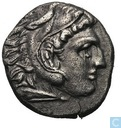 Oldest item - Kingdom Macedonia-AR Drachma Alexander the great As 310-301 BC
