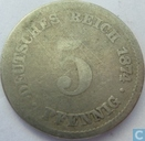 Empire allemand 5 pfennig 1874 (E)