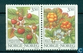 Timbres-poste - Norvège - Baies sauvages