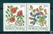 Briefmarken - Norwegen - Wilde Beeren