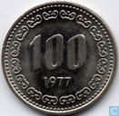 Zuid-Korea 100 won 1977