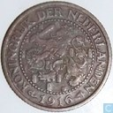 Coins - the Netherlands - Netherlands 2½ cents 1916