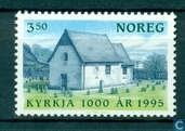 Postage Stamps - Norway - 350 blue / green