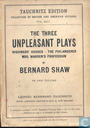 The Three Unpleasant Plays