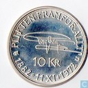"Schweden 10 Kronor 1972 ""90th Birthday of Gustav VI Adolf"""