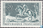 Timbres-poste - France [FRA] - Courrier à cheval