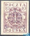 First Polish stamp exhibition
